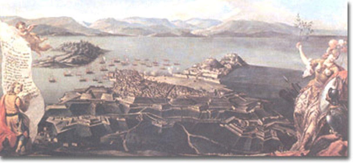 Οἱ Κερκυραϊκὲς ὁχυρώσεις ( Μουσεῖο Βενετίας)