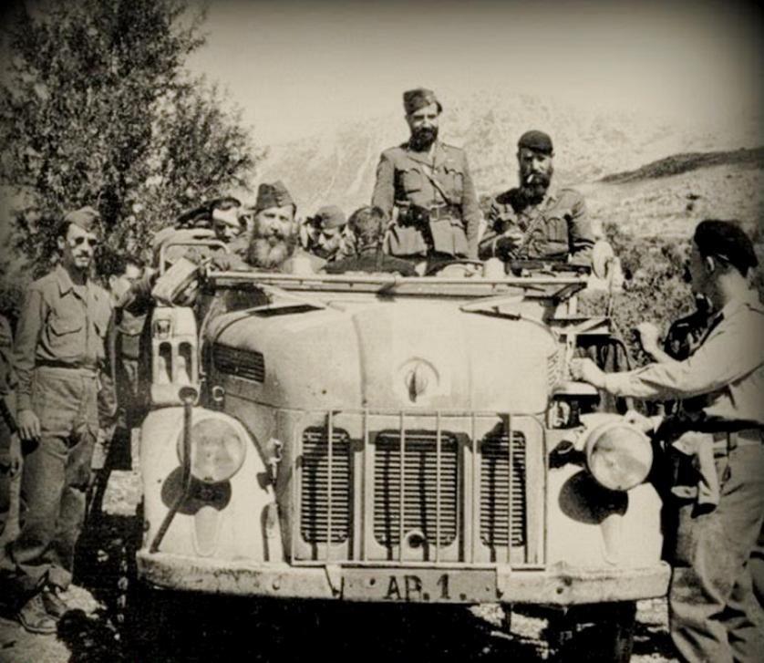 Λάφυρο.Το γερμανικό Steyr 1500 της Χ Μεραρχίας του ΕΔΕΣ