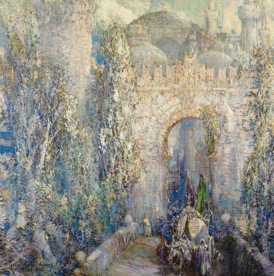George Wharton Edwards, 1932, Κωνσταντινούπολη, η Πύλη του Κατακτητή.