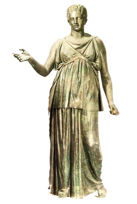Χάλκινο άγαλμα Αρτέμιδος 'Ύψος 1,94 – 4ος αι. π.Χ