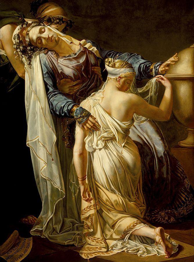 «Εκάβη και Πολυξένη» - δημιουργία τού Μπλοντέλ Μέρι-Τζόζεφ. (Merry-Joseph Blondel  Hecuba and Polyxena)