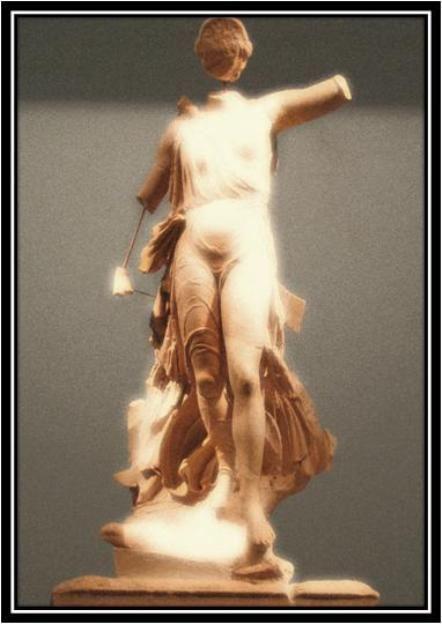 Η Νίκη τού γλύπτη Παιωνίου από την Μένδη.(Κλασική περίοδος, 421 π.Χ.)