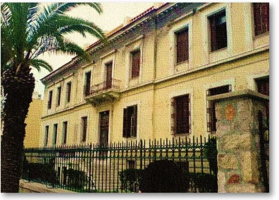 Το κτήριο τού Οίκου Τυφλών