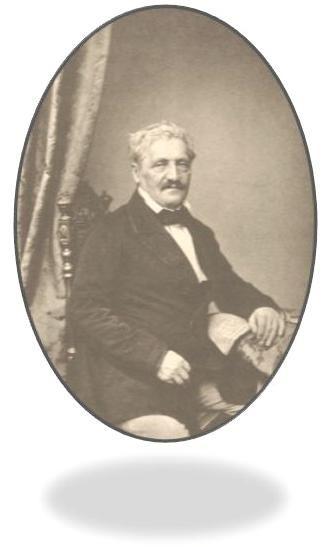 Ο Ιακώβ Φίλιππος Φαλλμεράϋερ. Δημιουργία τού Φ. Χάνφστάγκελ. Έτος 1860.(Jakob Philipp Fallmerayer, by Franz Seraph Hanfstaengl ca. 1860)