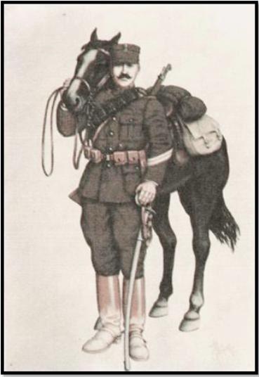 Στολὴ ἐκστρατείας ἱππέα (λοχία) 1910-1915 (Β.Δ. 28/6/1908)