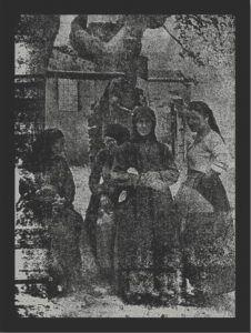 Ελληνίδες τού Δοξάτου των οποίων οι βούργαροι έσφαξαν τα τέκνα και τούς συζύγους και ελεηλάτησαν και έκαυσαν τας κατοικίας
