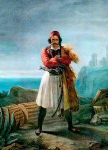 Δημιουργία τοῦ Λουδοβίκου Λιπαρίνι. «Έλληνας αγωνιστής».