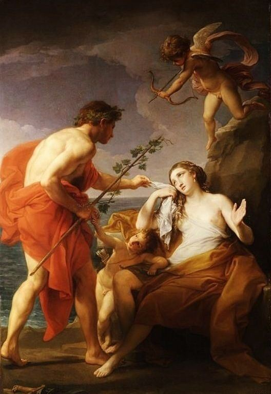 Bacchus and Ariadne. 1769-74. Pompeo Batoni.